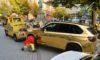 【金バエ】真っキン金にラッピングされたBMW、「まぶし過ぎて危険」なためドイツ警察が路上から撤去w 独・デュッセルドルフ